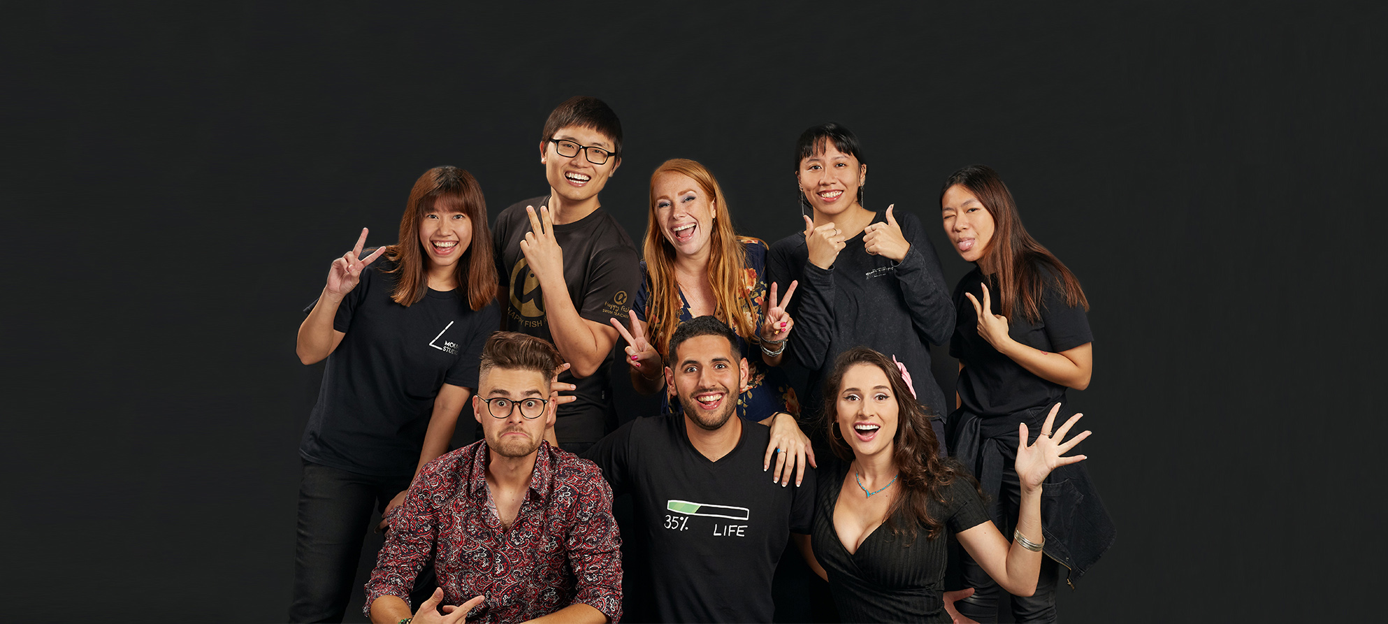 Nas Daily Team in Singapore